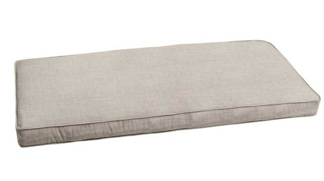 "Outdoor Sunbrella Bench Cushion-  37"" W x 17"" D - Wayfair"