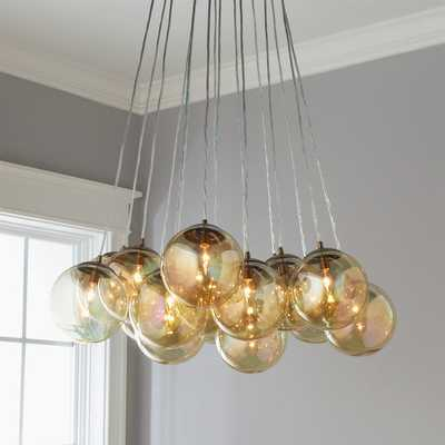 EFFERVESCENT GLOBES CHANDELIER - 16 LIGHT - Shades of Light