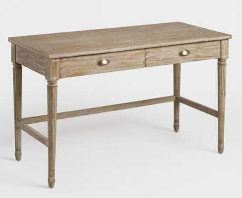 Distressed Wood Paige Desk by World Market - World Market/Cost Plus