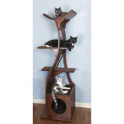 "69"" Cleopatra Cat Tree - Wayfair"