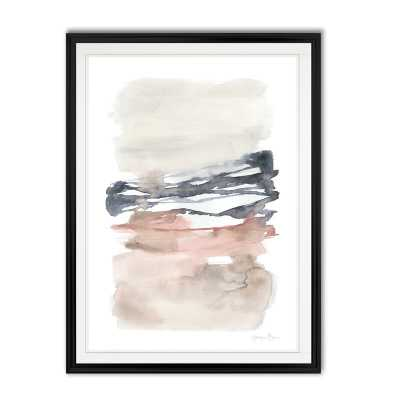'Tiered Horizon Line I' - Painting Print on Canvas - Wayfair