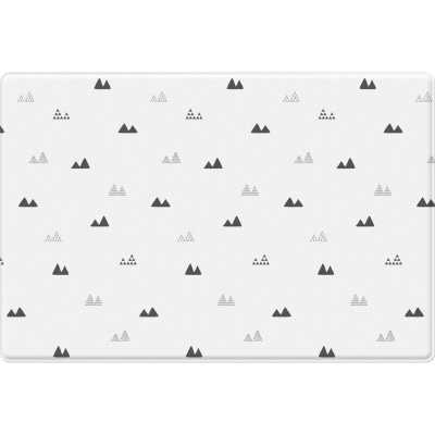 Mono Raum and Mont Blanc Design Floor Mat - Wayfair