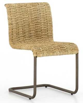 MARTIN CANTILEVER CHAIR, NATURAL - Lulu and Georgia