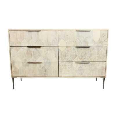 Hudgins 6 Drawer Double Dresser - Wayfair
