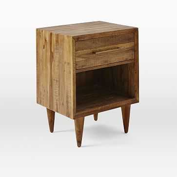 Alexa Nightstand, Light Honey - West Elm