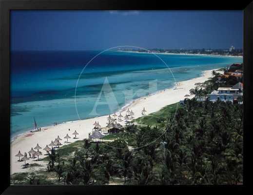 Varadero Beach, Matanzas, Cuba - art.com