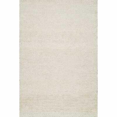 Beckett Hand-Woven Bleached Area Rug - Wayfair