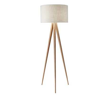 Director Floor Lamp, Natural - Pottery Barn Kids