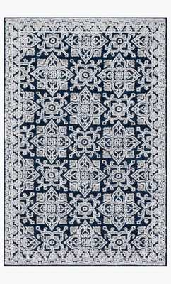LB-05 MH Midnight / Silver - Magnolia Home by Joana Gaines Crafted by Loloi Rugs