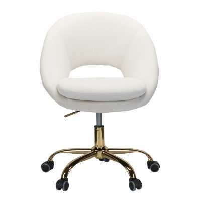 Penney Task Chair - white - Wayfair