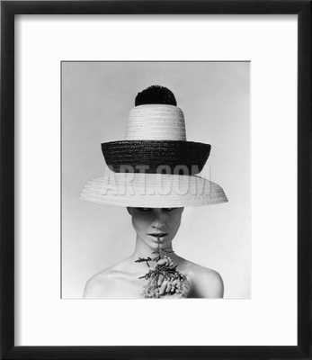 Vogue - June 1963 - Galitzine Hat - art.com