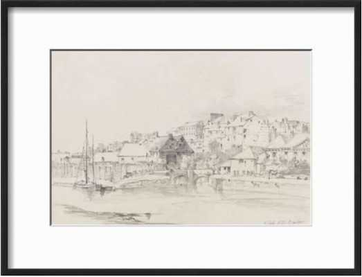 Exeter Custom House and Quay, 1831 - art.com