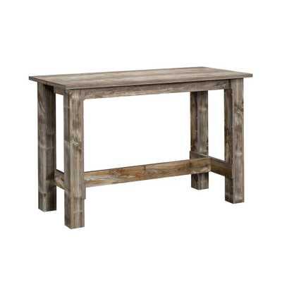 Boone Mountain Counter Height Dining Table Rustic Cedar - Sauder, Brown - Target