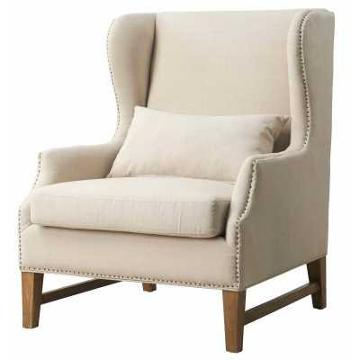 Samuelson Wingback Chair - Birch Lane
