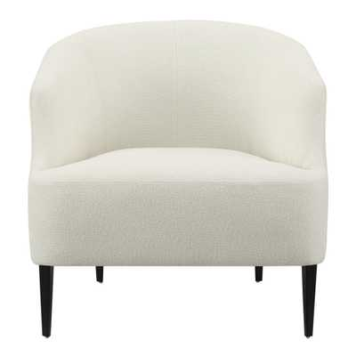 Ivory Carla Upholstered Chair - World Market/Cost Plus