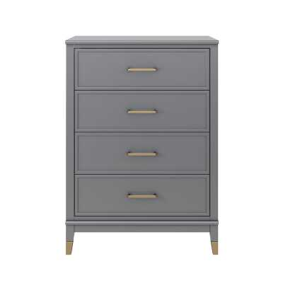 Westerleigh 4 Drawer Chest - gray - Wayfair