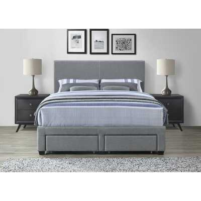 Colwell Queen Upholstered Storage Panel Bed - Wayfair