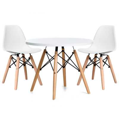 Paris Kids 3 Piece Writing Table and Chair Set - Wayfair