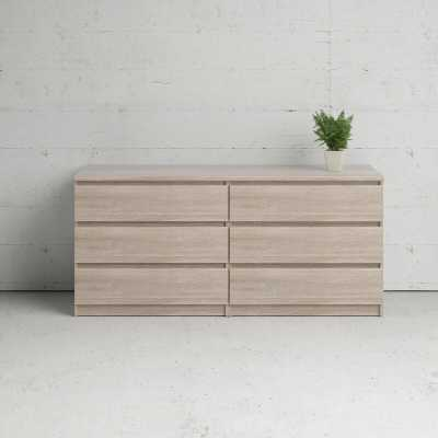 Kepner 6 Drawer Double Dresser - Wayfair