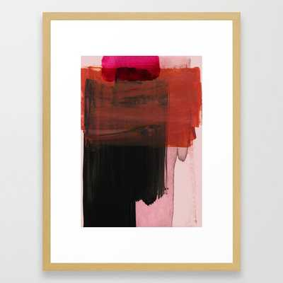 abstract painting XXI Framed Art Print by Iris Lehnhardt - Society6