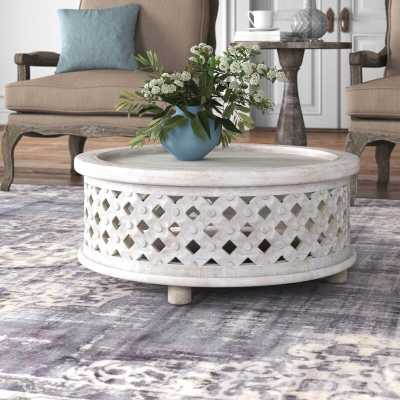 Beatrix Wood Coffee Table - Wayfair