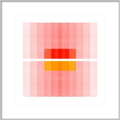 Color Space 27 - Pink, Red, Yellow - Artfully Walls