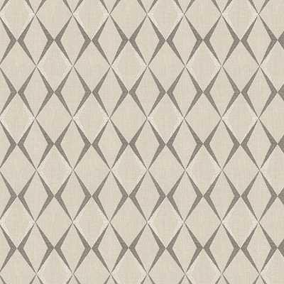 A Cut Above - Gunmetal Fabric - Loom Decor