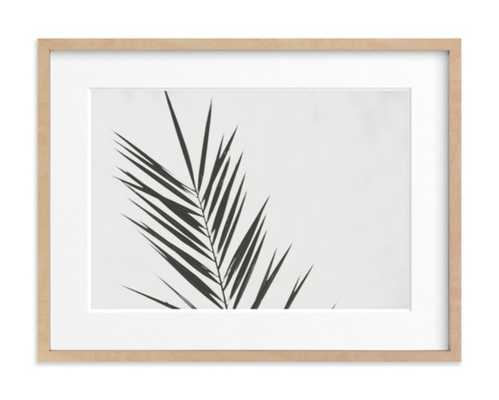 Two - 24x18, Natural Raw Wood Frame, matted - Minted