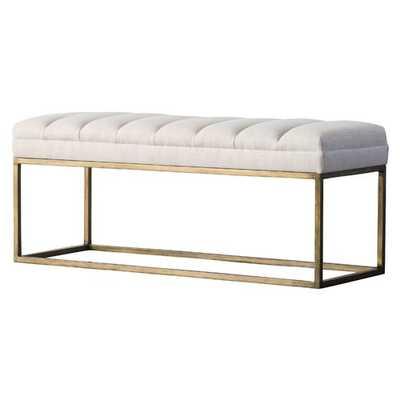 Jaden Upholstered Bench - Wayfair