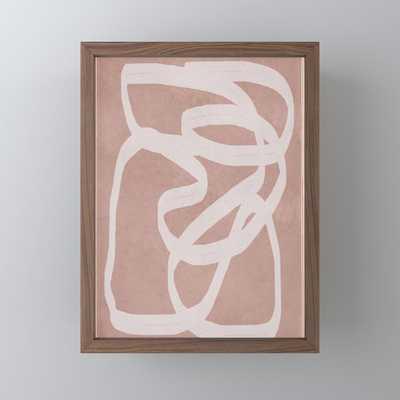 Abstract Flow I Framed Mini Art Print - Society6