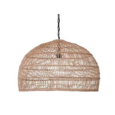 Tillar 1-Light Dome Pendant - Wayfair