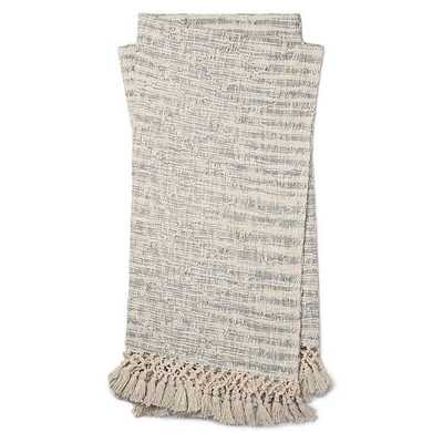 Magnolia Home by Joanna Gaines Else Throw Blanket in Light Blue - Bed Bath & Beyond