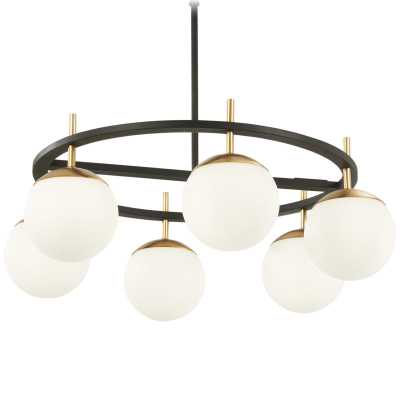 HARMONY GLOBES CIRCULAR CHANDELIER - Shades of Light