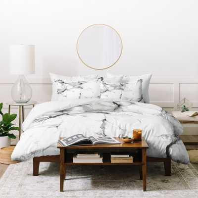 CHELSEA VICTORIA MARBLE DUVET COVER- King - Wander Print Co.