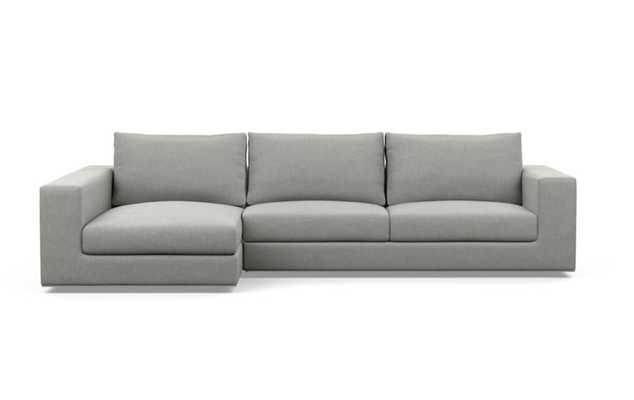 WALTERS Sectional Sofa with Left Chaise excru - Interior Define