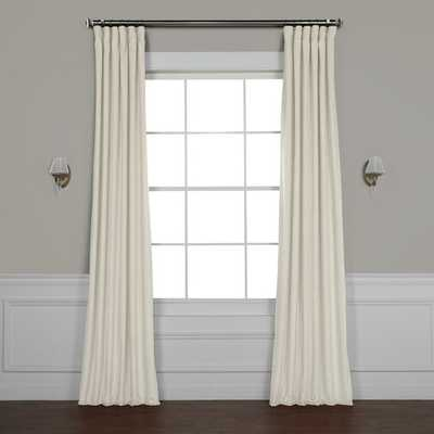 Riverton Solid Room Darkening Rod Pocket Single Curtain Panel - AllModern