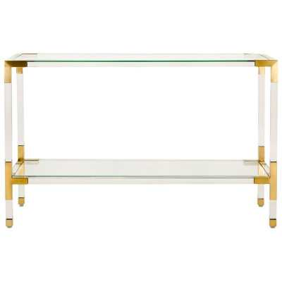 Console Table; Gold - Perigold