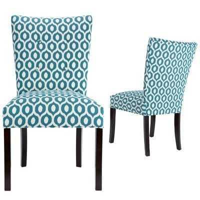 Matteson Fan Back Upholstered Dining Chair - Wayfair