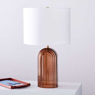 Retro Glass Table Lamp - Large - West Elm