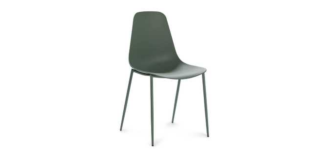 Svelti dining chair - aloe green - Article