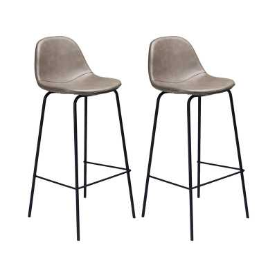 Connor Upholstered Stool (set of 2) - Wayfair