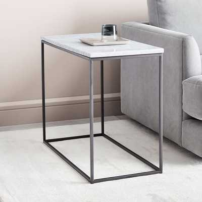 Streamline Side Table - Marble Set of 2 - West Elm