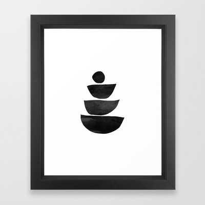 Mono 2 Framed Art Print - Society6