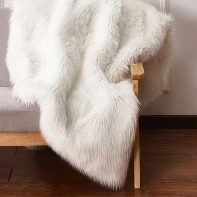 Elvire Handmade Luxurious Plush Faux Fur Throw - Wayfair