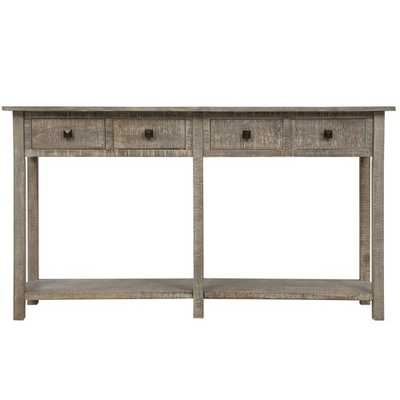 "59"" Solid Wood Console Table - Wayfair"