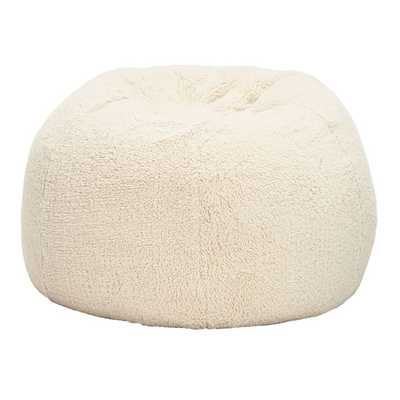 Sherpa Bean Bag Chair - Cover and Insert - Medium - Pottery Barn Teen