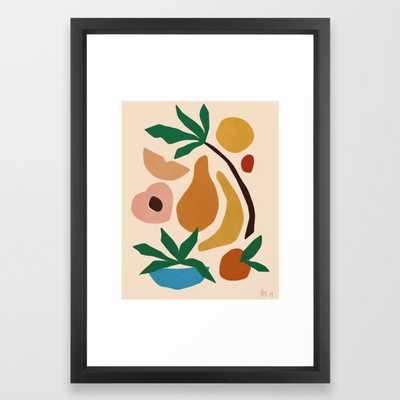 Fruit salad Framed Art Print - Society6
