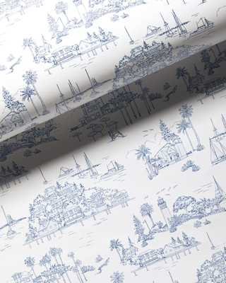 Seahaven Toile Wallpaper - Serena and Lily