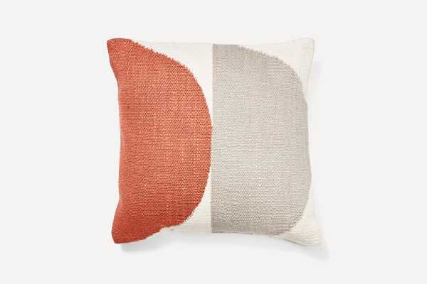 Persimmon Geometric Circles Pillow Cover- with insert - Burrow
