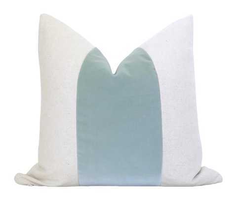 Mezzo Pillow Cover - Seafoam (Pillow Insert Not Included) - Willa Skye